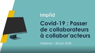 Webinar Télétravail passer de collaborateurs à collabor'acteurs